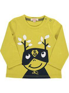 Baby boys' fancy long-sleeved T-shirt DUJOTEE2 / 18WG1033TML605