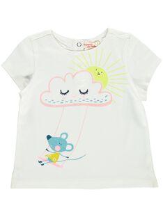 Baby girls' short-sleeved T-shirt DIVETEE2EX / 18WG0971TMC001