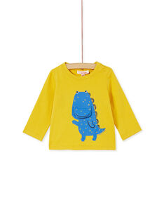 Yellow T-SHIRT KURETEE2 / 20WG10G3TMLB107