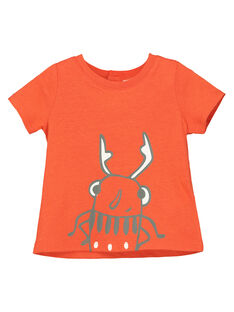 T-shirt maniche corte neonato FUJOTI9 / 19SG10G4TMC400