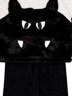 Pigiama Halloween in velluto bambino GEGOPYJHAL / 19WH12NCPYJJ920