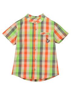 Camicia bambino a quadri FOYECHEM / 19S902M1CHM603