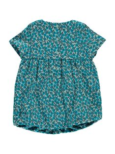Baby girls' velour dress DIGIROB1 / 18WG09N1ROB099