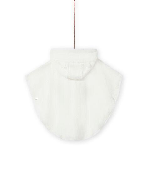 Mantella da bagno con cappuccio motivo volpe nascita unisex MOU1CAP / 21WF4241POI001