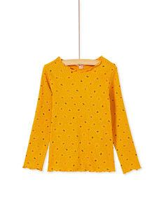 Yellow LONGSLEEVE T-SHIRT KAJOUTEE4 / 20W9013CD32107