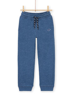 Pantaloni sportivi - bambino - blu melange LOJOJOB3 / 21S90243JGB222