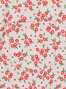Abito salopette con stampa a fiori LAROUROB2 / 21S901K2ROBD326