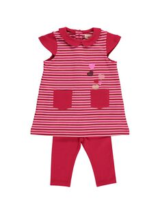 Baby girls' dress and leggings set DIROUENS / 18WG0921ENS099