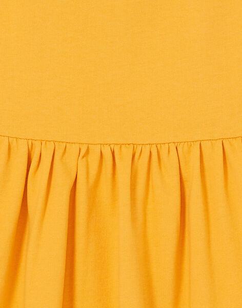 Abito giallo LAPOEROB2 / 21S901Y2ROB107