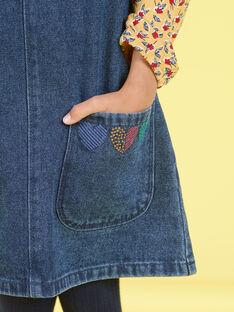 Abito in jeans bambina MAMIXROB1 / 21W901J2ROBP269