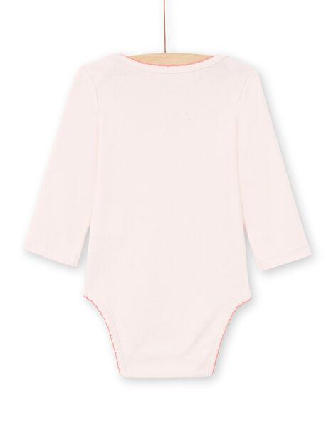 Body rosa chiaro neonata MEFIBODCHOU / 21WH13B1BDLD310