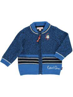 Baby boys' cardigan CUKLEGIL / 18SG10D1GIL099