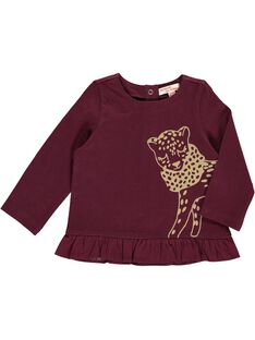 Baby girls' long-sleeved T-shirt DIJOTEE4 / 18WG0934TML719