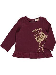 Baby girls' long-sleeved T-shirt DIJOTEE4 / 18WG0934TML719