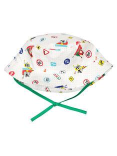 Cappello da pescatore con stampa neonato FYUCOBOB / 19SI1081CHA099