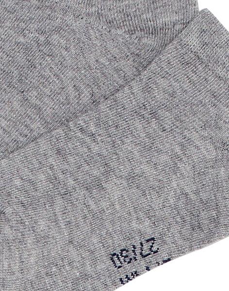 Calzini grigio chiaro unisex JYOESSOQ2 / 20SI0266SOQJ922