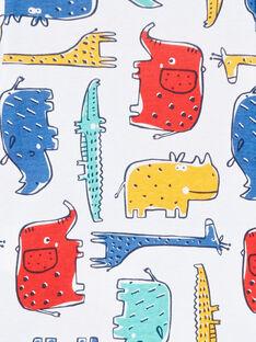 Body corredo bambino a maniche lunghe animali della savana multicolore LEGABODSAF / 21SH1429BDL001