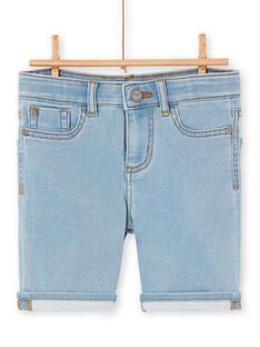 Bermuda in jeans celesti bambino LOBONBER4 / 21S902W4BERP272