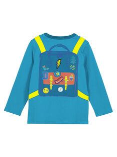 T-shirt Turchese Maniche Lunghe GOTUTEE2 / 19W902Q3TMLC217