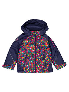 Navy Puffy Jacket GASKIPAR / 19W901W1ANO070