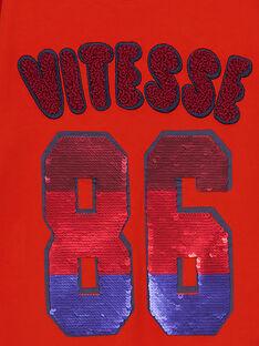 T-shirt Maniche lunghe Arancione GOSANTEE2 / 19W902C1TML405