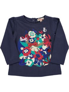 Baby girls' long-sleeved T-shirt CIDETEE2 / 18SG09F2TML705