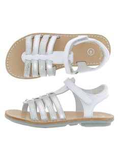 Girls' leather sandals CFSANDIBEL / 18SK35W2D0E000