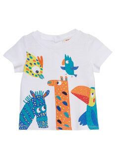 T-Shirt Maniche Corte Bianca JUMARTI1 / 20SG10P2TMC000