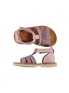 Sandali da città pelle neonata FBFSANDISA / 19SK37K2D0E030