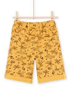 Bermuda gialli senape bambino LOTERBER2 / 21S902V3BERB101