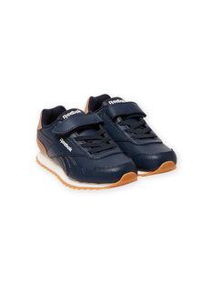 Sneakers Reebok navy con dettagli marrone bambino MOG58316 / 21XK3644D36070