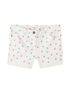 Shorts in jeans, stampa a pois e fragole JAJOSHORT4 / 20S901T4D30001