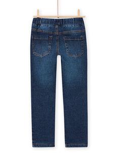 Jeans regular con fodera in pile bambino MOPLAJEAN / 21W902O1JEAP274