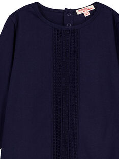 T-Shirt Maniche Lunghe Navy GAJOSTEE2 / 19W90134D32070