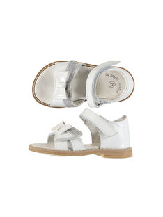 Sandali da città pelle neonata FBFSANDVEL / 19SK37C3D0E000