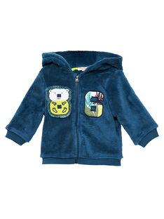 Cardigan con cappuccio morbido neonato JUCLOGIL / 20SG1011GIL716