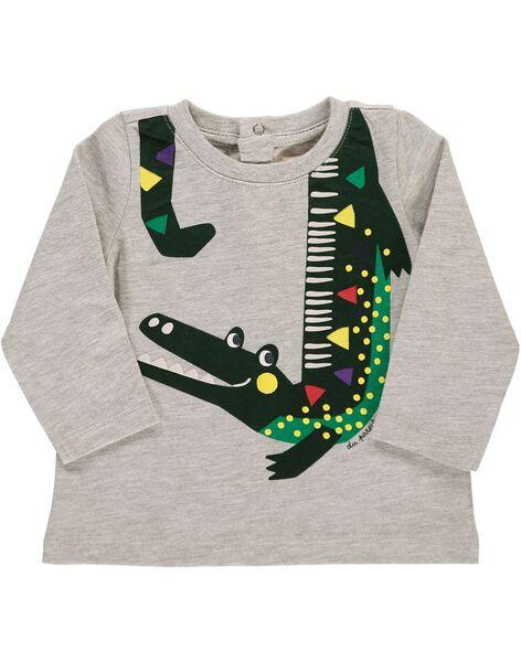 Baby boys' long-sleeved T-shirt DUVIOTEE3 / 18WG10H3TMLJ908