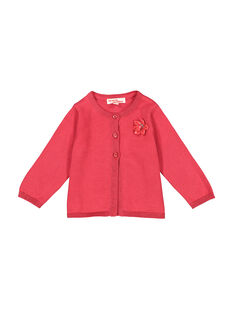 Cardigan rosa neonata FIJOCAR2 / 19SG0932CAR308