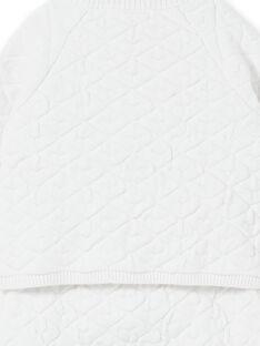 Completo bianco in maglia neonato unisex LOU1ENS4 / 21SF05H1ENS000