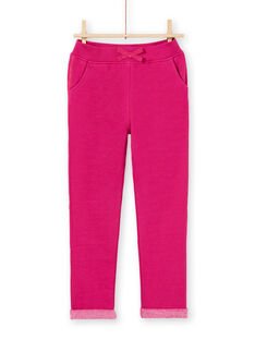 Pantaloni sportivi rosa bambina MAJOBAJOG4EX / 21W90117JGBD312