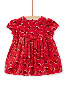 Red DRESS KINOROB1 / 20WG09Q1ROBF529