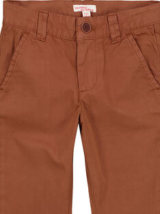 Pantaloni chino Cammello GOJOPACHI2 / 19W90246D2B804