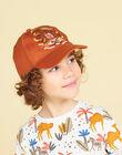 Cappellino arancione motivo leone bambino LYOTERCAP / 21SI02V1CHAF519