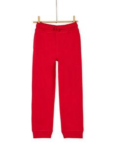 Red JOGGING PANT KOJOJOB5EX / 20W9025AD2AF508