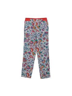 Pantaloni taglio morbido con stampa bambina FATOPANT / 19S901L1PAN099