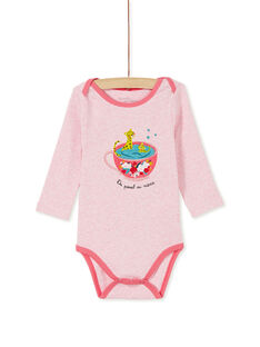 Heather pink BODY SUIT KEFIBODTAS / 20WH1394BDLD314