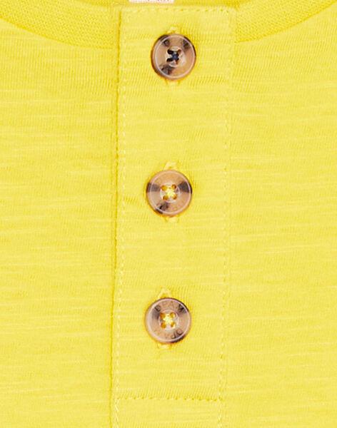 Golden yellow LONGSLEEVE T-SHIRT KOJOTUN2 / 20W90253D32106