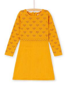 Yellow DRESS KAGOROB4 / 20W901L3ROB107