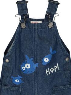 Salopette in jeans neonato FUNESAL / 19SG10B1SAL704