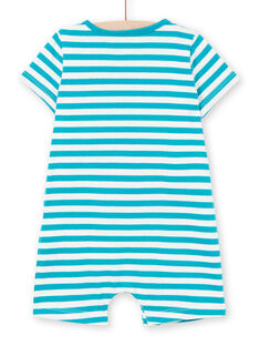 Tuta corta in jersey neonato LUPLACOM1 / 21SG10T1CBL001